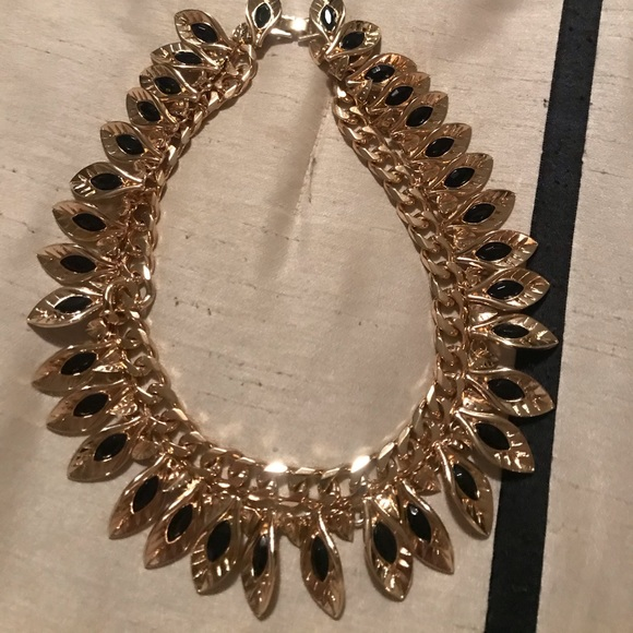 Brand new Bebe Heavy double necklace - gorgeous!!